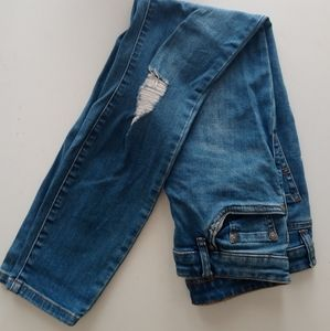 Sportsgirl  Distressed skinny jeans size 10